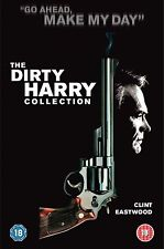 Dirty Harry Collection (2002) 5-Disc Box Set Clint Eastwood, Ted Post UK R2 DVD