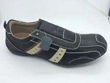 Mens Shoes SOA Mason Black Brown or Beige multi Size 7-12 Leather Casual Shoe