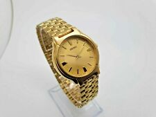 Vintage Seiko Classic  Watch Gold plated Gold tone  Dial  V701-2B60