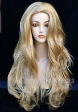 Women Blonde Long Wavy Wigs Ladies Fashion Curly Heat Resistant Wig UK