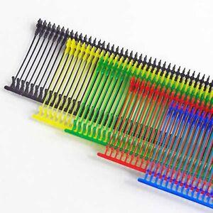 10,000 PINK AND ORANGE kimble tags 25mm