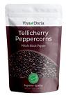 Viva Doria Tellicherry Peppercorn Whole Black Pepper for Grinder Refill, 12 oz