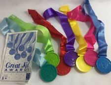 Discovery Kids Self Esteem Medals Toys Great Kid Awards courage effort champion