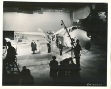 RITA HAYWORTH 1947 ON SET BTS AIRPLANE - N. MINT COND.