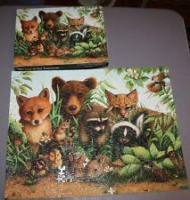 Vintage Springbok Puzzle Take Care of Our Tomorrows Animals 500 + Pcs