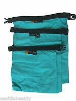 Blue 3pcs waterproof dry storage sack bag Canoe Boating Floating Camping outdoor