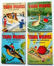 Complete set of 4 TEENIE WEENIE junior editions