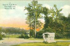 Kansas City, MO The Santa Fe Trail Marker in Penn Valley Park