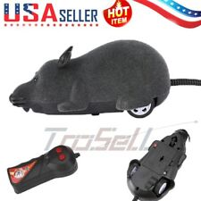 New listing Funny Remote Control Rc Rat Mouse Mice Wireless For Cat Dog Pet Toy Novelty Gift