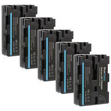 BATTERIA 5x per Sony np-fm500h | 65167 | DSLR-Alpha 500 580 850 900 slt-a58 65 77 99