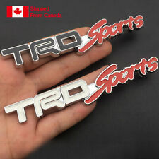 TRD Sports  Metal Emblem Car Bumper Trunk Fender Decal Logo Badge.For Toyota etc