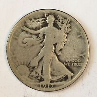 1917 Walking Liberty Half Dollar - High Quality Scans #D110