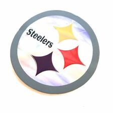 2 of Pittsburgh Steelers Emboss Decal Sticker NFL Reflective Printed Die Cut