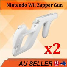 2x White Zapper Gun for Nintendo Wii Remote Controller Call Of Duty
