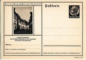 Deutsches Reich Ganzsache P 236  Blieskastel  DD: 39-138-1-B9  **