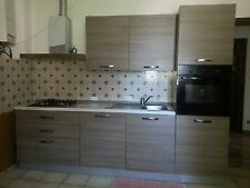 Italienische Küche Küchenzeilen 330 cm x 210 x 60 mit Elektro Geräte GASHERD