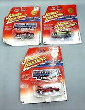 JOHNNY LIGHTNING MUSCLE CARS U.S.A. '63 STUD-AVANTI '70 CHEVELLE '05 MUSTANG GT