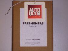 AUTOGLYM AIR FRESHENER BRAND NEW SEALED X 50