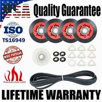 Dryer Repair Kit Roller Pulley Belt Set For Whirlpool KitchenAid Kenmore 4392067