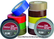 Nashua 2280 Contractor Grade Duct Tape, 48mm x 55M x 9 mil thick - Full Case ...