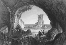 WALES. Stock Rock, Milford Haven. Sargent 1846 old antique print picture
