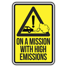 On a mission with high emissions Volkswagen Sticker by oilcan VW  rat t4 t5 golf