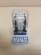 CUTLER HAMMER RELAY D3PR2T Ser.A 10 AMP 240V W/SOCKET 8501 NR51
