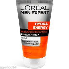(59,13 €/L ) 150 ml L'Oréal menexpert Hydra énergie aufwach-kick GEL NETTOYAGE