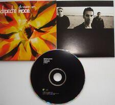 Depeche Mode __  DREAM ON / Easy Tiger  __  3 Track CD  __ PROMO FOR COLLECTORS