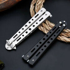 1x Butterfly Comb (Not Edged) Folding Practice Butterfly Knife Trainer