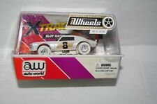 Very Rare iWHEELS #9 of 150 HO Electric Slot Car 71 Racing Camaro Auto World New