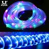 50/100/200 LED Solar String Fairy Light Waterproof Rope Tube Xmas Decoration