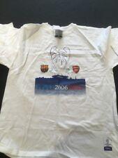 Arsenal Vs Barcelona Champions League 2006 Paris Final T-Shirt (2245)