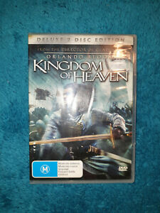 Kingdom of Heaven (DVD, 2005) action Orlando Bloom, Michael Sheen, Liam Neeson