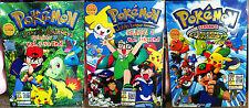 English Version ~ Pokemon (Season 3 + 4 + 5) ~ 6-DVD 3-Box ~(Johto Master Quest)