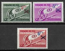 Belgium stamps 1938 OBP SP202-SP204 MNH VF TRAIN stamps