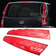 Red Rear Pillar Cover Molding For HYUNDAI 2007 08 09 10 11 12 13 H1 Starex i800