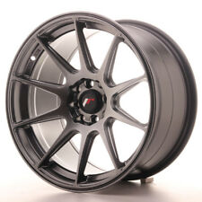 "Un Cerchio in Lega Japan Racing JR11 17"" x 9"" ET 20 5 x 100/114 Nero hyper black"