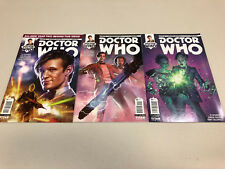 Doctor Who #1 - #3 Cover A - Eleventh Doctor Year Two - Comic Book Lot