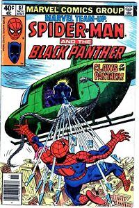 Marvel Team-up #87 1979 Spider-man Black Panther Comic Book-NR!