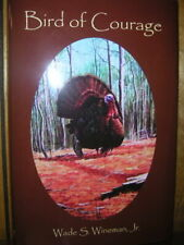 1950s hunting/turkey call/Bird of Courage/new/signed
