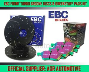 EBC FR GD DISCS GREEN PADS 300mm FOR VOLVO V40 CROSS COUNTRY 1.6 TD D2 115 2012-