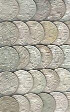 1966 Australia,  Round 50 cent  50c 80% Silver Coin