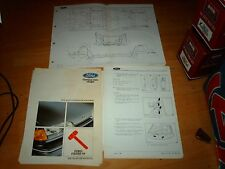 Genuine Ford Body Repair Manual Ford Fiesta  1989 - 1996