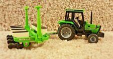 ERTL 1/64 Diecast Deutz-Allis Model 358 4-Row Corn Planter And 6260 Tractor Cab