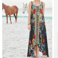 474f062ba0d Johnny Was Garden Floral Arch Slip Sleeveless Dress New Boho Chic C34918