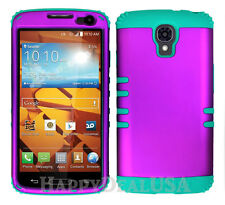 KoolKase Hybrid Silicone Cover Case for LG Volt LS740 F90 - R Purple