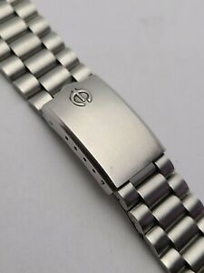 Elgin Stainless steel strap/watchband, Suitable for 18mm wide lugs