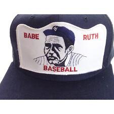 6dae4b2ad7e Vintage Babe Ruth Baseball Patch Hat Cap