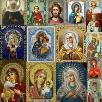 Mosaic 5D DIY Diamond Painting Home Decoration Religious Icon  Diamond Embroider